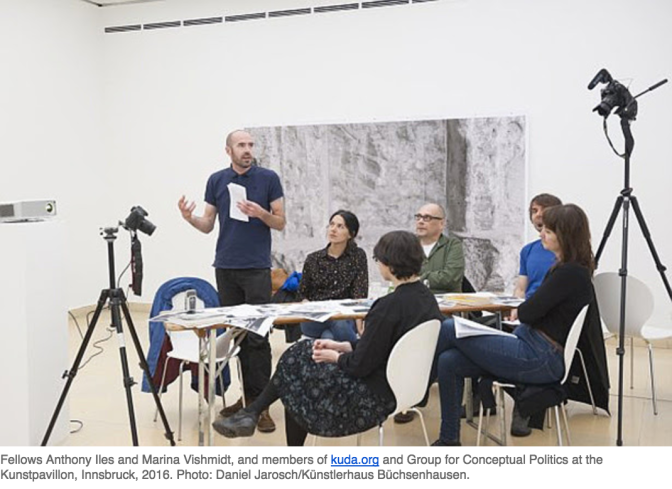 Fellowship Program for Art and Theory in Austria. Deadline: Jan 27, 2017