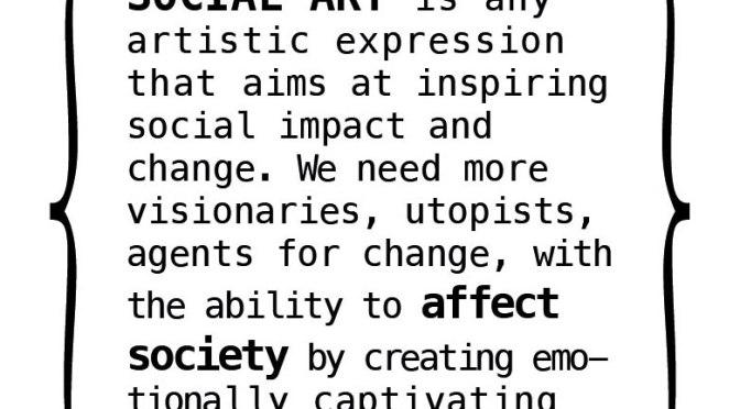 Social Art Award (Berlin). Deadline: Mar. 31, 2017