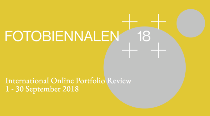 INTERN. ONLINE PF REVIEW, FOTOBIENNALEN'18. Sept., 2018