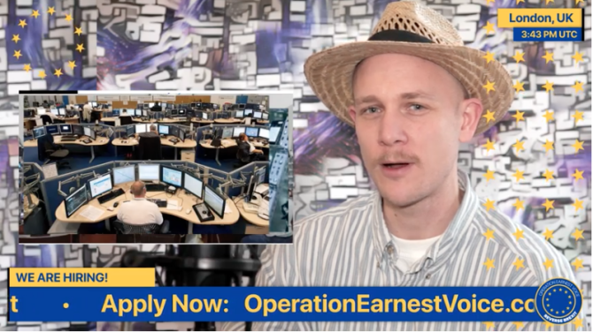 Job at Operation Earnest Voice, TPG, London