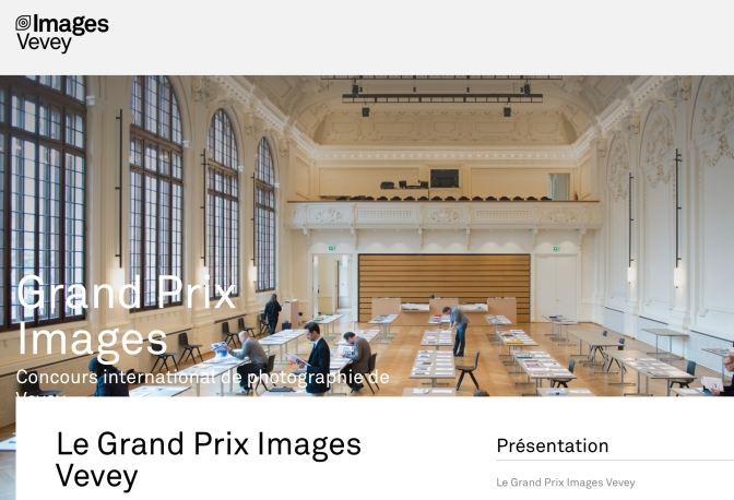 Grand Prix Images Vevey and Book Award. Deadline: Feb. 28, 2019