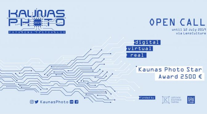 KAUNAS PHOTO Open Call. Deadline: July 12, 2019