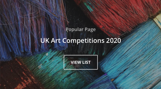 UK Art Competitions 2020